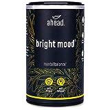 ahead BRIGHT MOOD | Natürliches Mittel hochdosiert mit Vitamin B6 für Wohlbefinden und Nervensystem* | Mit Reishi, L-Tryptophan, 5 HTP, Reishi, Vitamin B6 und B12 | 90 vegane Kapseln