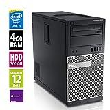 Dell Optiplex 9010 MT - Core i5-3470@3.20GHz - 4Go RAM - 500Go HDD - DVD-R - Windows 10 Pro...