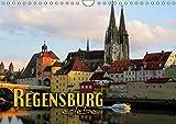 Regensburg erleben (Wandkalender 2019 DIN A4 quer): Faszinierende Ansichten einer historischen Stadt (Monatskalender, 14 Seiten ) (CALVENDO Orte) - Renate Bleicher