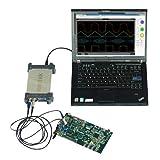 Multimeter Electric Testing PC Based USB Digital Oscilloscope 250MSa/s 80Mhz Bandwidth 2CH