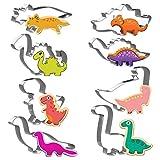 Joyoldelf Dinosaurier Ausstecher Set 8 Stück