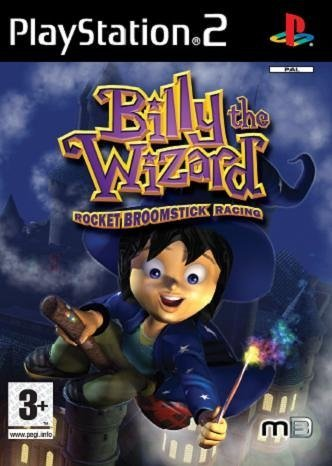 Billy the Wizard: Rocket Broomstick Racing (PS2) by METRO 3D