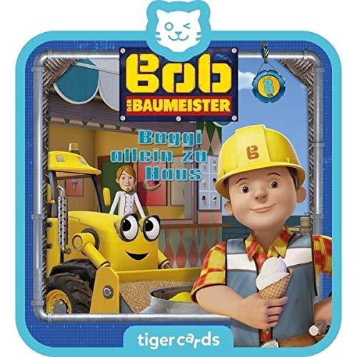 Tigerbox 4154 tigercard-Bob der Baumeister-Folge 8: Baggi allein zu Haus