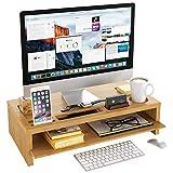 Homfa Soporte Monitor Ordenador Elevador de Monitor Pantalla Organizador para...