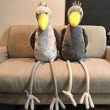 びろーんと ハシビロコウ なが BIG ぬいぐるみ 全2種セット 全長100cm 長い ビッグ 鳥