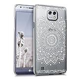 kwmobile Coque Compatible avec LG X Cam - Housse Protectrice pour Téléphone en Plastique Rigide...