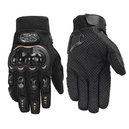 Guantes de Motocicleta Guantes de Motocross de Carreras para Hombres Motocicleta Transpirable Verano Corona de Dedo Completo