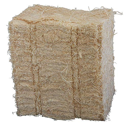 Boxolutions GmbH 1kg Holzwolle 1A Qualität aus Fichtenholz naturbelassen * Hell * Füllmaterial * Polstermaterial *
