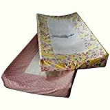 Room 365 Mandala Baby Girl 2 Pack Changing Pad Cover Pink