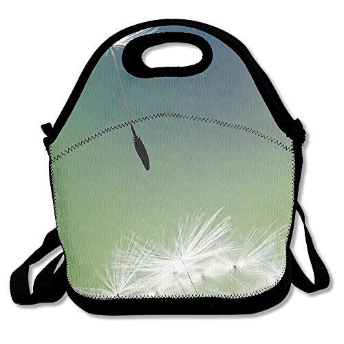 N / A Bolsas de Picnic Reutilizables Bolsas de Almuerzo Lonchera de Diente de león Ambulante para Hombres Mujeres Adultos Niños Enfermeras para niños pequeños