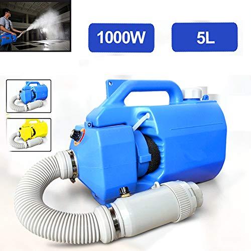 Yajun Tragbarer Druck Sprüher Elektrischer Spray Ultra Kapazität 5L Abstand 3-6 Meter Garten Unkrautvernichter Sprühgeräte für Heimkrankenhäuser,Blue
