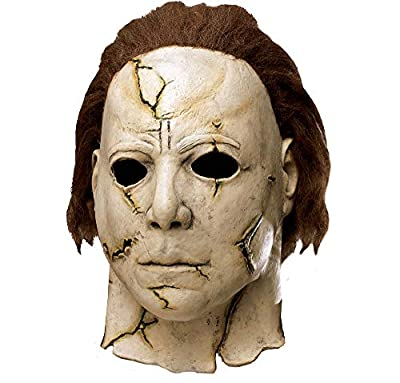 Fun World Rob Zombie's Halloween: Michael Myers Adult Mask, Beige / Red, One Size