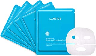 Laneige Water Bank Double Gel Soothing Mask EX, 5ct