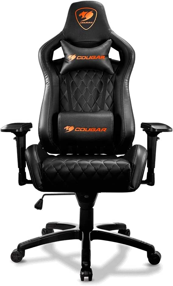 Cougar Armor S Gaming Chair, Charcoal (Black)