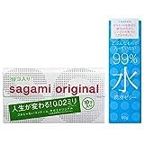 【Amazon.co.jp 限定】サガミオリジナル 002 10個入+99%水潤滑ゼリー 60gセット