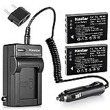 Kastar Battery (X2) & AC Travel Charger for URC 11N09T NC0910 RLI-007-1 MX-810 MX-880 MX-890 MX-950 MX-980 Universal Remote Controls