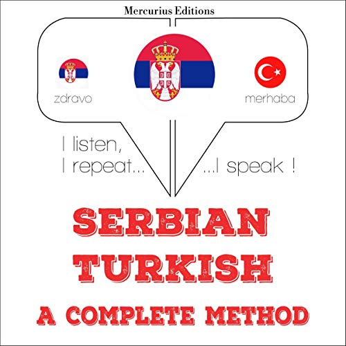 『Serbian - Turkish. A complete method』のカバーアート