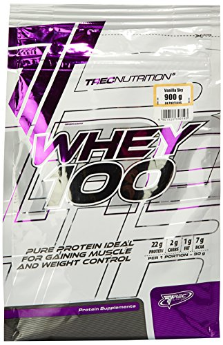 Trec Nutrition Whey 100 Protein Supplement, Vanilla