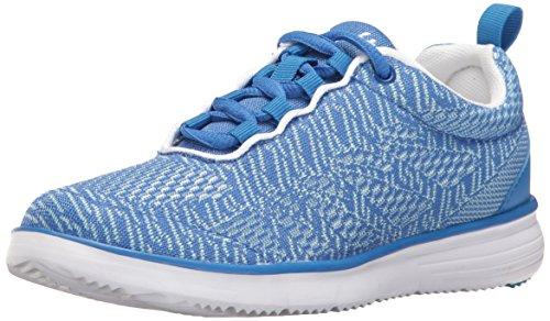 Propét Chaussures de randonnée TravelFit Pro pour Femme. - Bleu - Bleu/Blanc, 36 EU