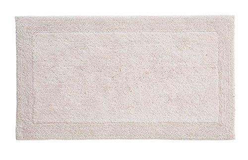 Grund Puro Series 100% Organic Cotton Reversible Bath Rug, 24-inch by 60-inch, Panna Cotta