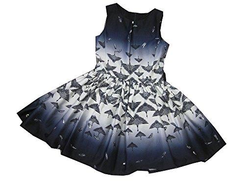Jottum Mädchen Girl Kleid SANMING Blue Dark Navy (128)