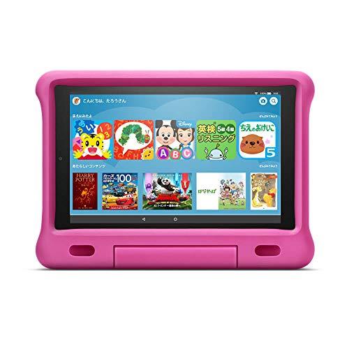 Fire HD 10 キッズモデル ピンク (10 インチ HD ディスプレイ) 32GB 数千点のキッズコンテンツが1年間使い放題