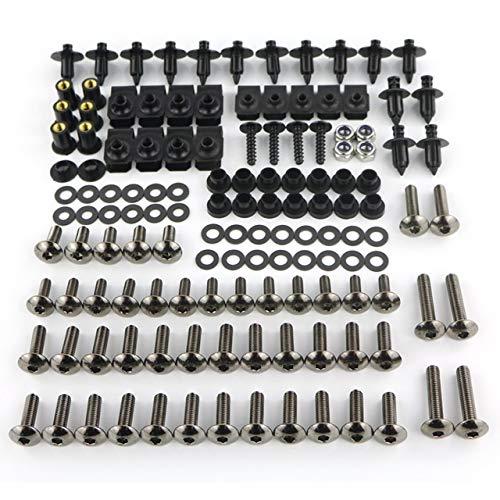 Für Sie Komplette Voll Verkleidung Schrauben Kit Schraube Schraubensatz for Yamaha MT-01 MT-125 MT-25 MT-03 MT-07 FZ-07 Tracer MT-09 FZ-09 MT-10 FZ-10 (Color : MT 09 FZ 0914 18Gray)