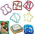 Fashionclubs Kids Sandwich And Bread Press Cutter Maker Mould