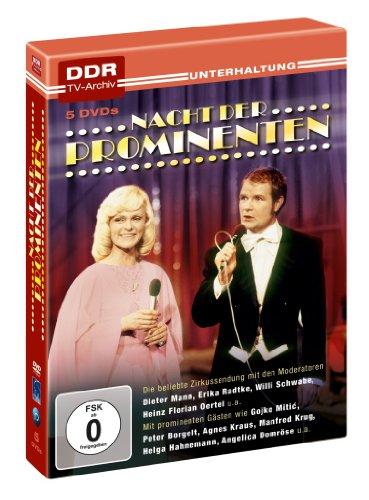Nacht der Prominenten (DDR TV-Archiv) (5 DVDs)