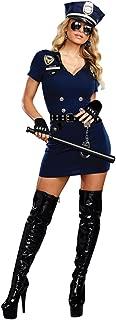 Dreamgirl Women's Officer Pat U. Down