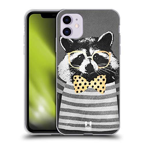 Head Case Designs Orsetto Lavatore Super Posh Cover in Morbido Gel e Sfondo di Design Abbinato Compatibile con Apple iPhone 11