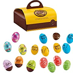 Idea Regalo - OVETTI CIOCCOLATO CAFFAREL OVICINI ASSORTITI MIX PASQUA GIANDUIA 500 GR FONDENTE