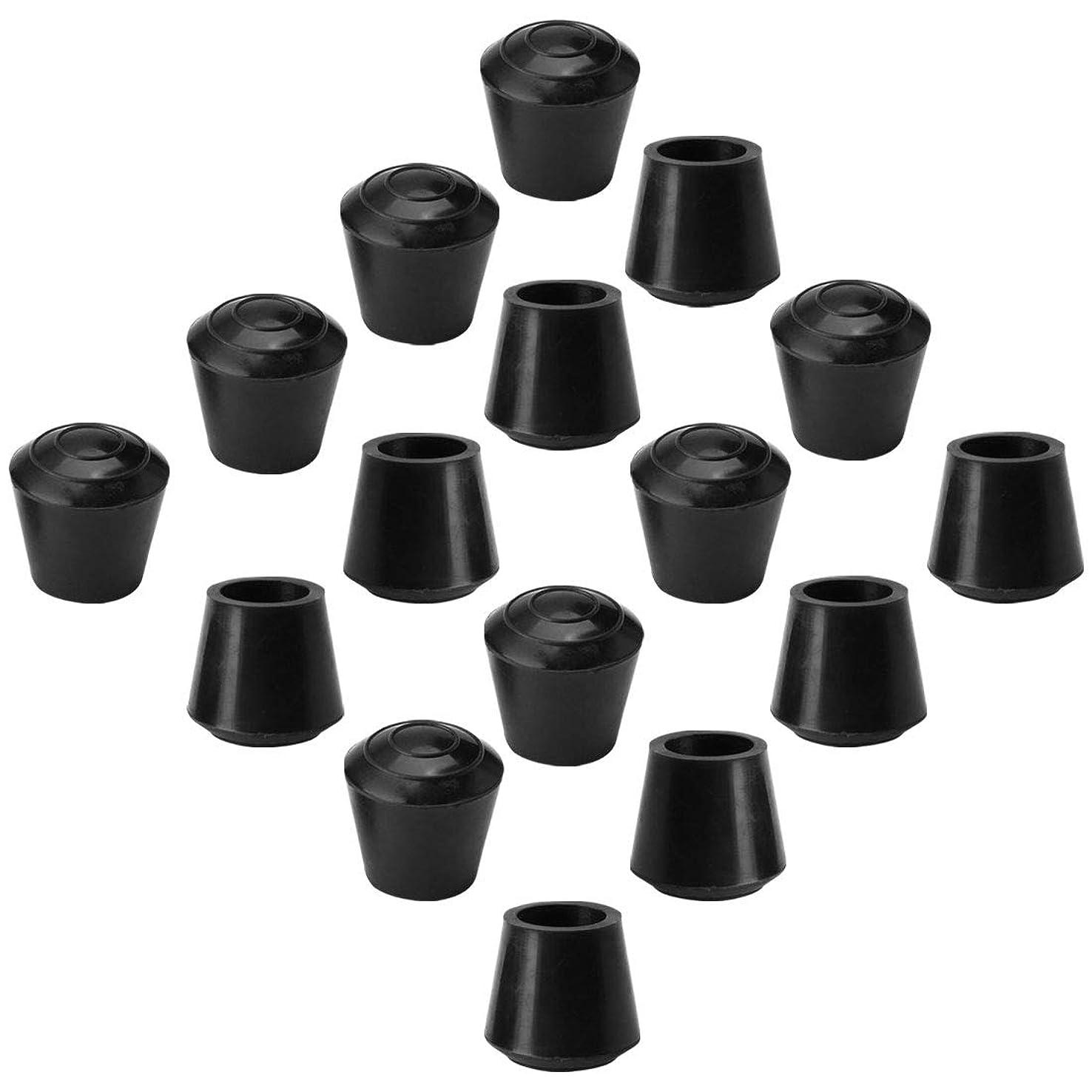 ゲスト樫の木コインランドリーuxcell レッグキャップ ゴム レッグキャップ チップ カップ フィートカバー 14m 内径 16個 具用 テーブル