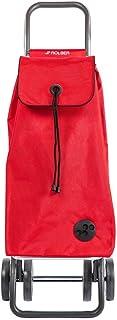 Rolser Carro I-MAX MF 4 Ruedas Plegable (Rojo