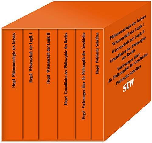Die Hauptwerke. Phänomenologie des Geistes. Wissenschaft der Logik I. Wissenschaft der Logik II.Grundlinien der Philosophie des Rechts. Politische ... Schuber (suhrkamp taschenbuch wissenschaft)