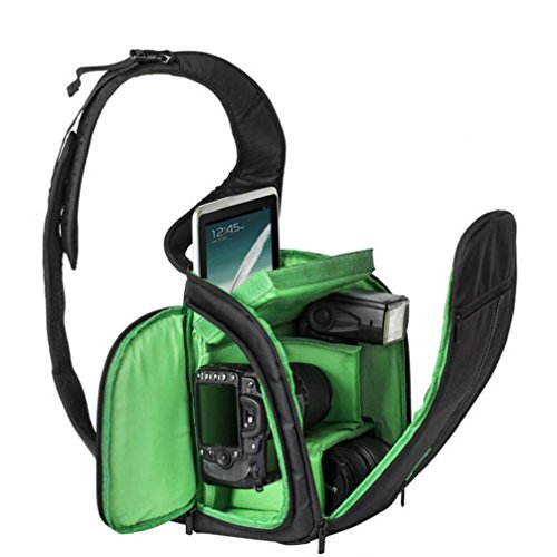 Aliciga 一眼カメラバッグ 防水 カメラバックパック スリングバッグ カメラケース カメラケース 一眼レフ ...