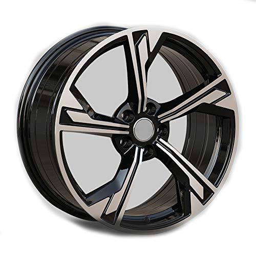 GYZD Alu Felgen 18 Zoll Durchfluss geschmiedete Radlegierung Ersatzrad Auto Rad Maschine Aluminium Felge Passend für R18 *9.5J Reifen Geeignet für a4l a6l a3 a4 a7 a5 q7 1 Stück,J