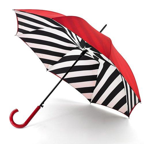 Lulu Guinness Walking paraguas Bloom Bury 2Diagonal Líneas Ltd Edition