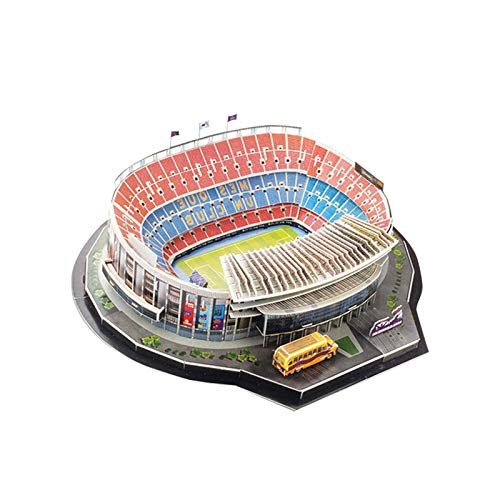 Rompecabezas 3D Modelo De Estadio De Fútbol,  Rompecabezas