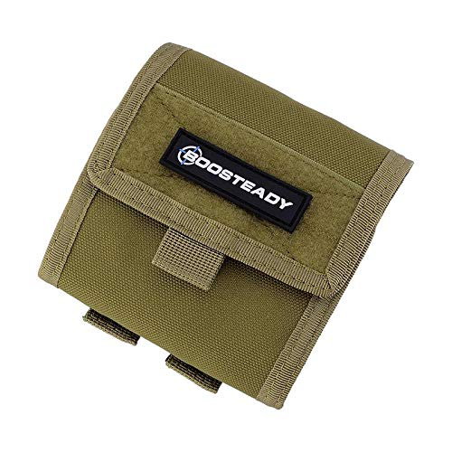 BOOSTEADY Tactical Compact Roll-Up Pouch,Molle Magazine Dump Drop Pouch Bag