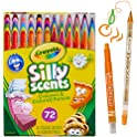 72-Count Crayola Silly Scents Twistables Scented Crayons & Pencils