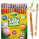 Crayola Silly Scents Twistables, Scented Crayons & Pencils, 72 Count