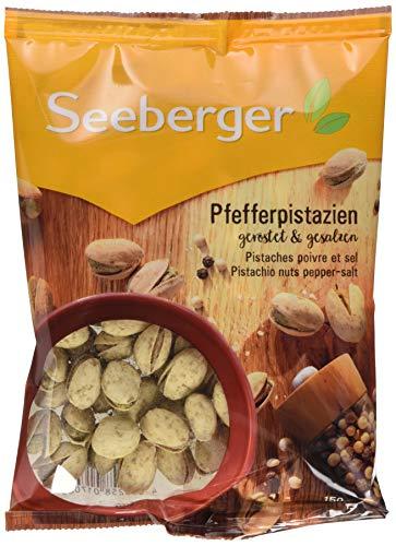 Seeberger Pfefferpistazien, 12er Pack (12 x 150 g)