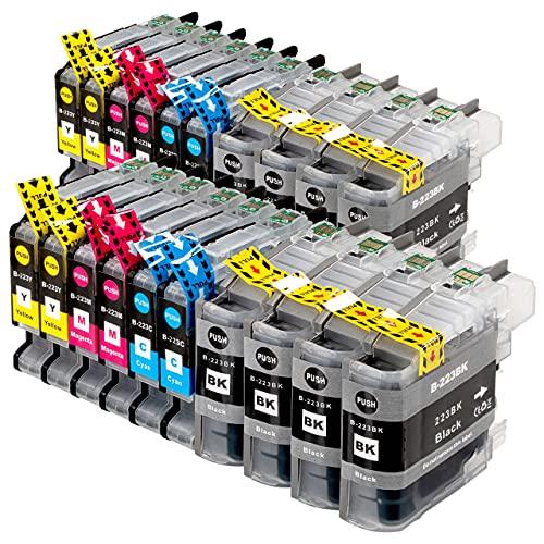 ESMOnline komp. Druckerpatronen als Ersatz zu Brother LC-223 für MFC J4420DW J4620DW J4625DW J5320DW J5620DW J5625DW J5720DW J880DW J680DW J480DW DCP J562DW J4120DW (20er Set)