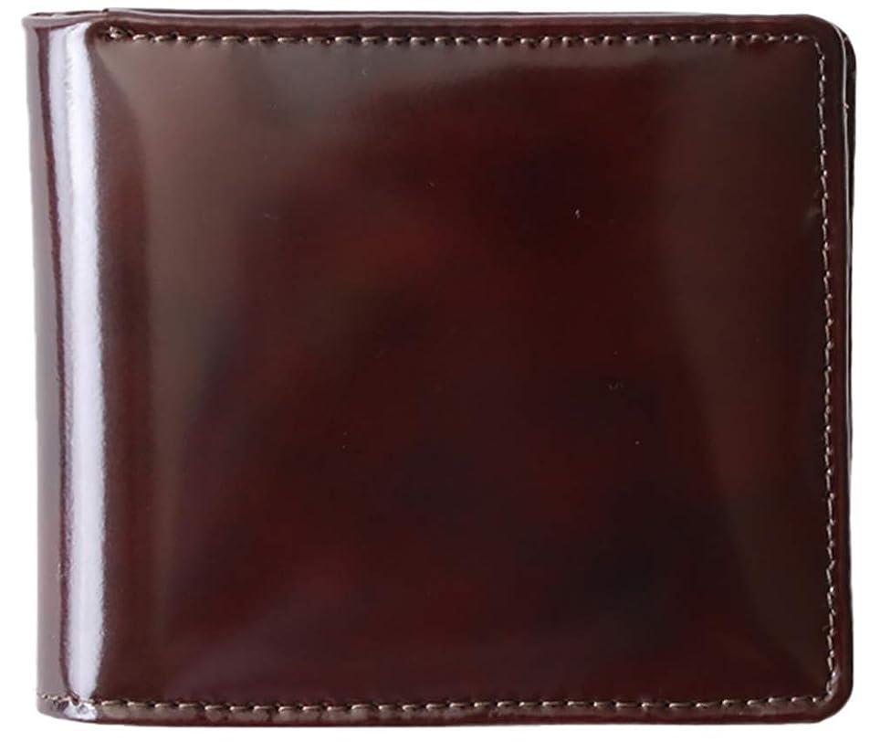 護衛つかまえるウサギ[BlissLeather] 【極上イタリアンレザー】短財布 二つ折り財布 革財布 メンズ PRLP-3003