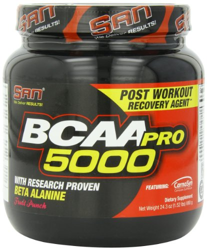 San BCAA-Pro 5000 Fruit Punch, per stuk verpakt (1 x 690 g)