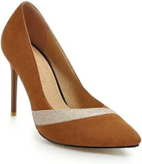 HENG-XIN 40 to 46 Large Size Pointed High Heels