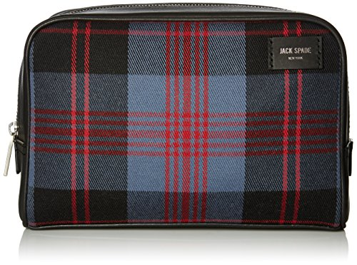 Jack Spade Men's Cocharron Slim Toiletry Kit, Indigo, One Size