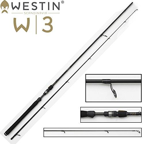 Westin Powershad W3 270 cm M 7-25g Spinnrute für Zander, Barsch, Forellen & Hecht, Angelrute zum Zanderangeln, Forellenangeln, Barschangeln & Hechtangeln, 2-teilige Rute