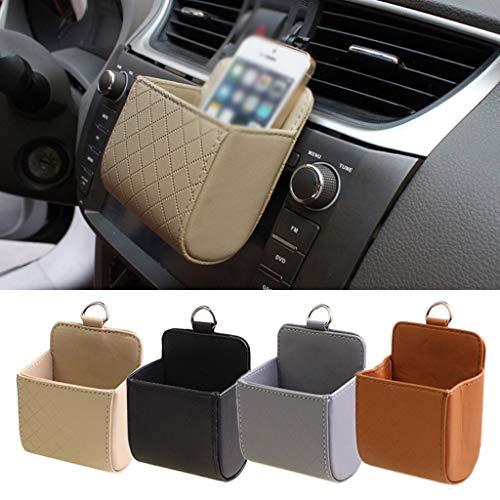 CZGJX Trunk Organizer Voor Auto Auto Air Outlet Mobiele Telefoon Pocket Auto Telefoon Pocket Hangende Tas